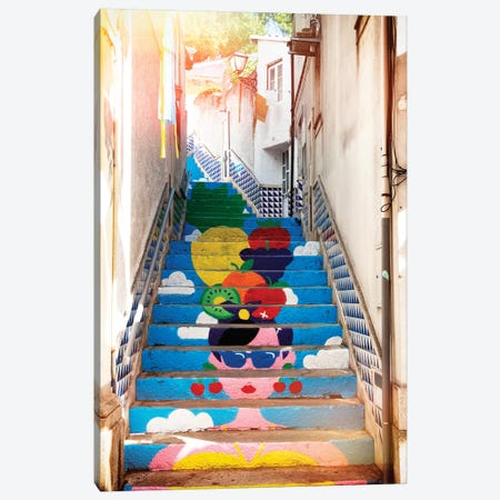 Tropical Staircase I Canvas Print #PHD588} by Philippe Hugonnard Canvas Print