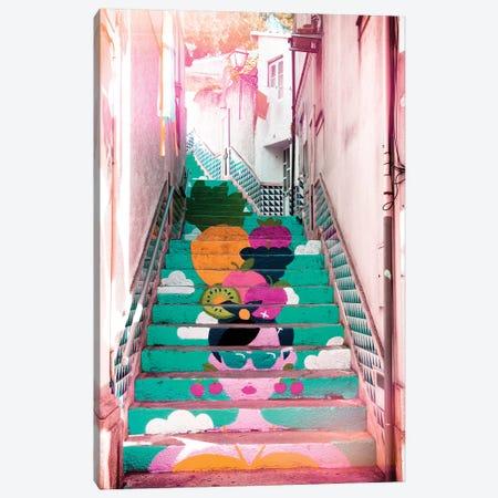 Tropical Staircase II Canvas Print #PHD589} by Philippe Hugonnard Art Print