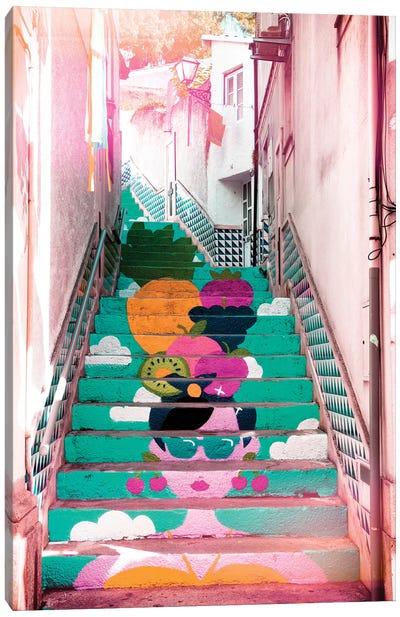 Tropical Staircase II Canvas Art Print