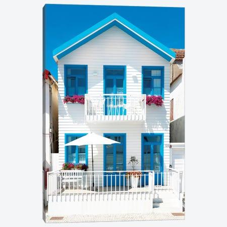 White House and Blue Windows Canvas Print #PHD596} by Philippe Hugonnard Art Print