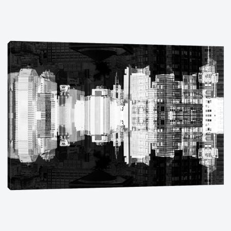 Times Square Buildings - Infrared Canvas Print #PHD59} by Philippe Hugonnard Art Print