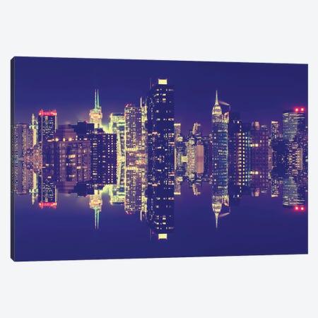 Manhattan Skyline Canvas Print #PHD5} by Philippe Hugonnard Canvas Art Print