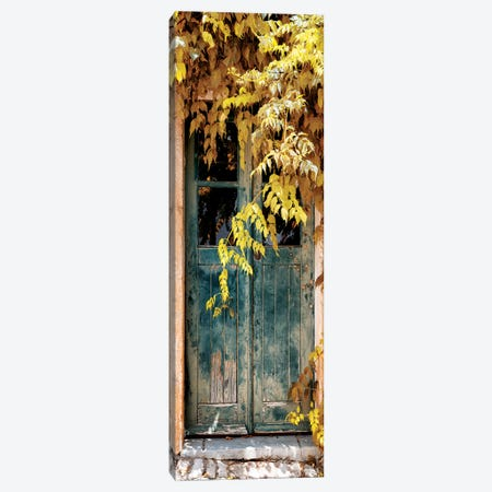 Old Door with Fall Colors II 3-Piece Canvas #PHD646} by Philippe Hugonnard Canvas Print