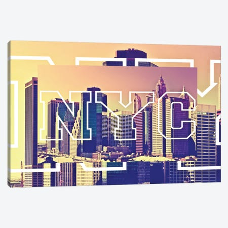 New York Buildings Canvas Print #PHD64} by Philippe Hugonnard Canvas Art Print