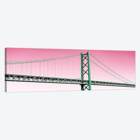 The Lisbon Bridge Pop Art II Canvas Print #PHD650} by Philippe Hugonnard Canvas Print