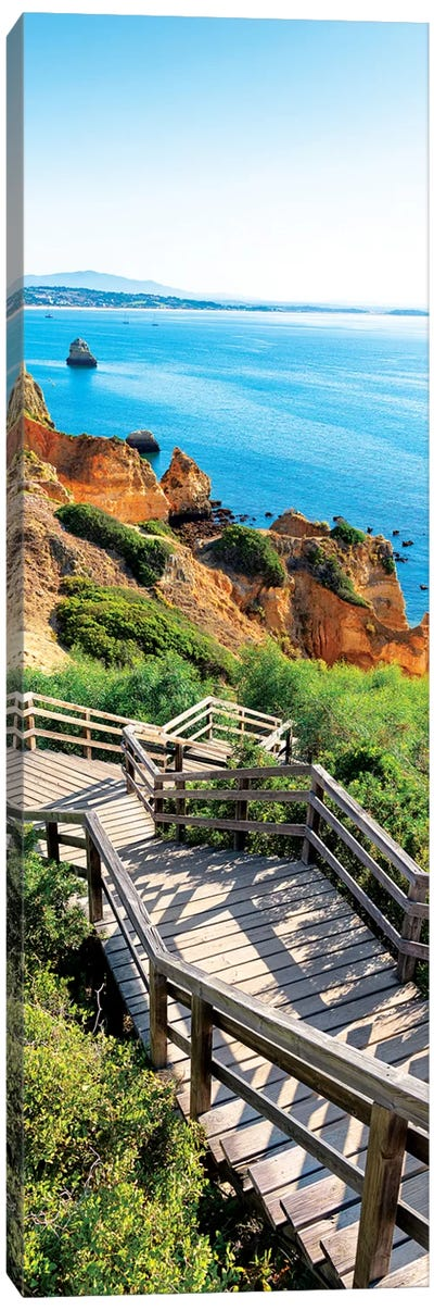 Stairs to Camilo Beach Canvas Art Print