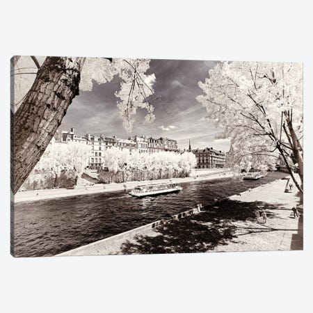 Along The Seine Banks Canvas Print #PHD656} by Philippe Hugonnard Canvas Wall Art