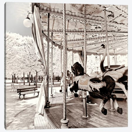 French Carousel Canvas Print #PHD672} by Philippe Hugonnard Canvas Art Print