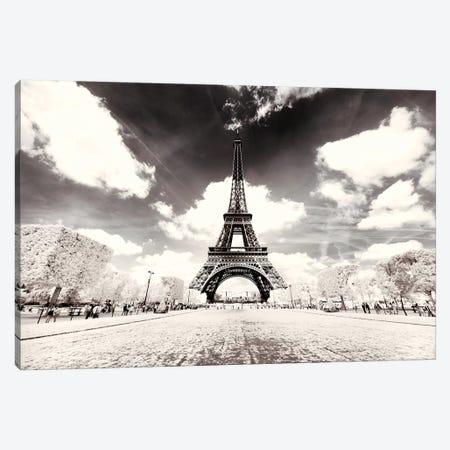 His Majesty Eiffel Canvas Print #PHD673} by Philippe Hugonnard Canvas Art Print