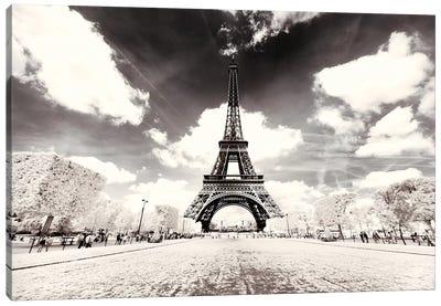 His Majesty Eiffel Canvas Art Print