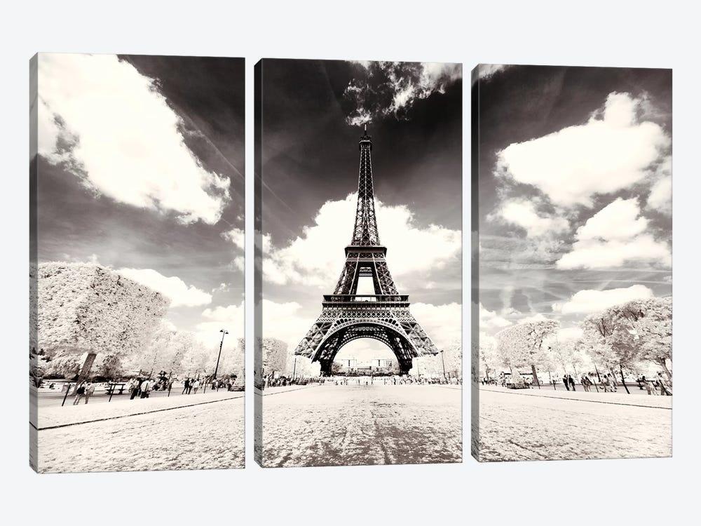 His Majesty Eiffel by Philippe Hugonnard 3-piece Canvas Art