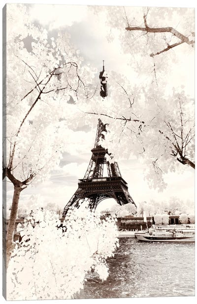 Majesty Eiffel Canvas Art Print
