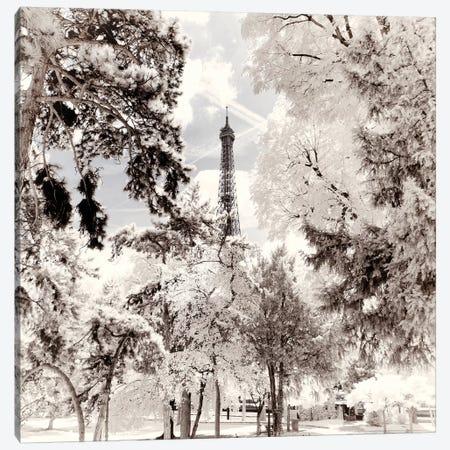 Snowy Peaks Canvas Print #PHD688} by Philippe Hugonnard Canvas Artwork