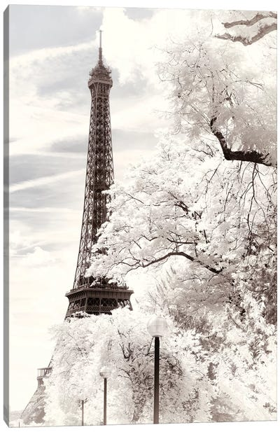 The Eiffel Tower Canvas Art Print