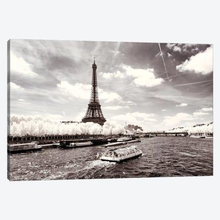 The River Seine Canvas Print #PHD694} by Philippe Hugonnard Canvas Wall Art