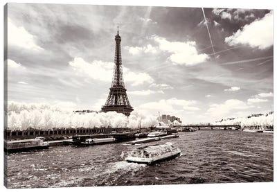 The River Seine Canvas Art Print