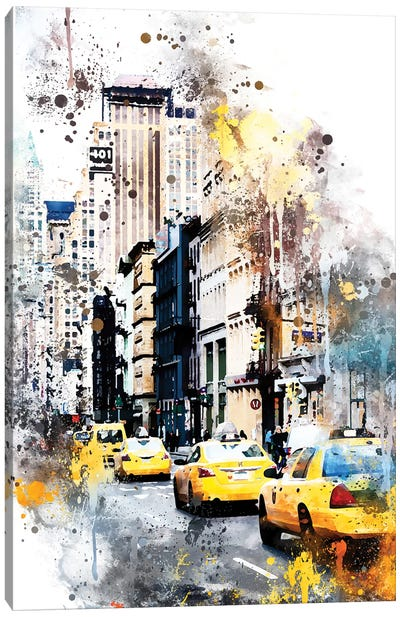 401 Broadway Canvas Art Print