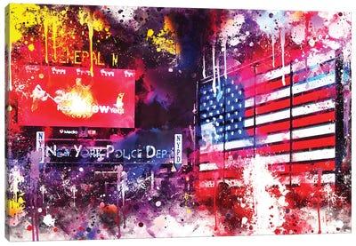 American Colors Canvas Art Print