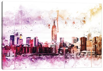 Between Canvas Art Print