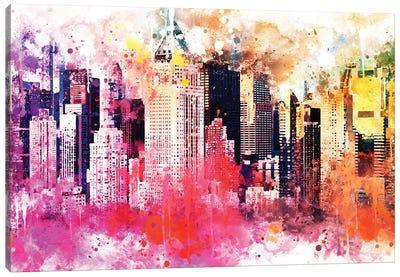 City Of Colors Canvas Art Print