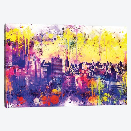 Colorful Midtown Canvas Print #PHD712} by Philippe Hugonnard Canvas Art