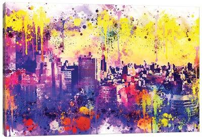 Colorful Midtown Canvas Art Print