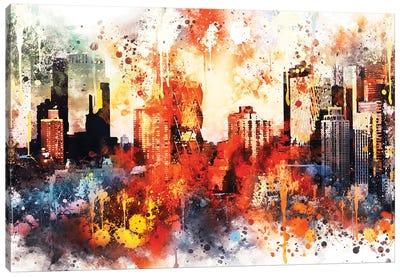 Colors Of Manhattan Canvas Art Print
