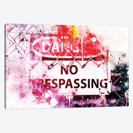Danger ! Canvas Print #PHD717} by Philippe Hugonnard Art Print