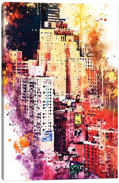 District Canvas Art Print