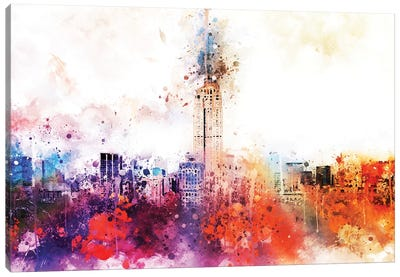 Empire Skyline Canvas Art Print