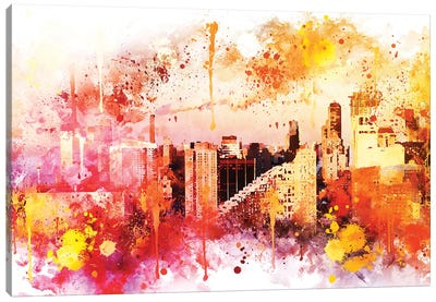 End Of The Day Canvas Art Print