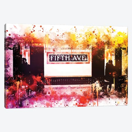 Fifth Avenue Station Canvas Print #PHD723} by Philippe Hugonnard Canvas Art Print