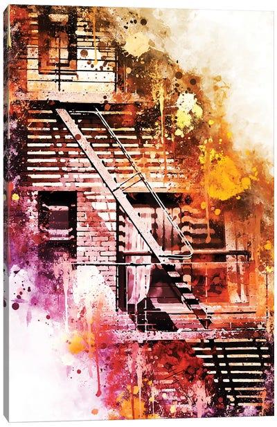 Fire Escape Canvas Art Print