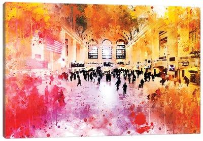 Grand Central Station Canvas Art Print
