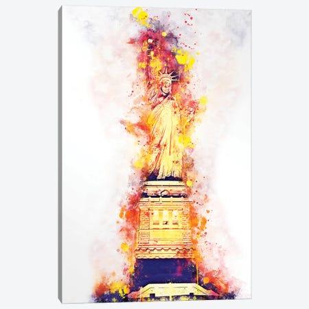 Lady Liberty Canvas Print #PHD733} by Philippe Hugonnard Canvas Artwork