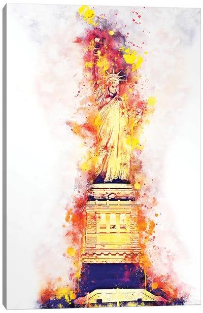Lady Liberty Canvas Art Print