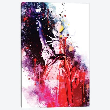 Liberty Colors Canvas Print #PHD735} by Philippe Hugonnard Canvas Art Print