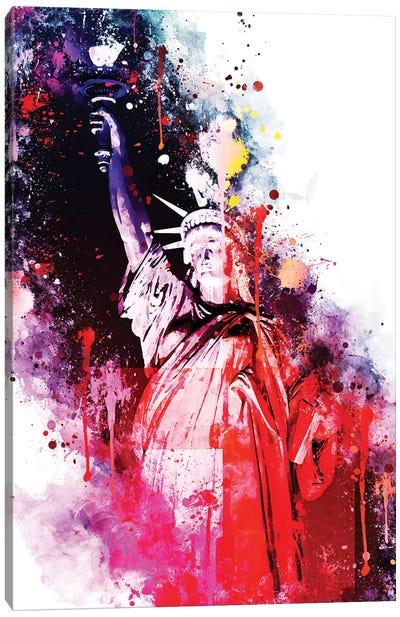 Liberty Colors Canvas Art Print