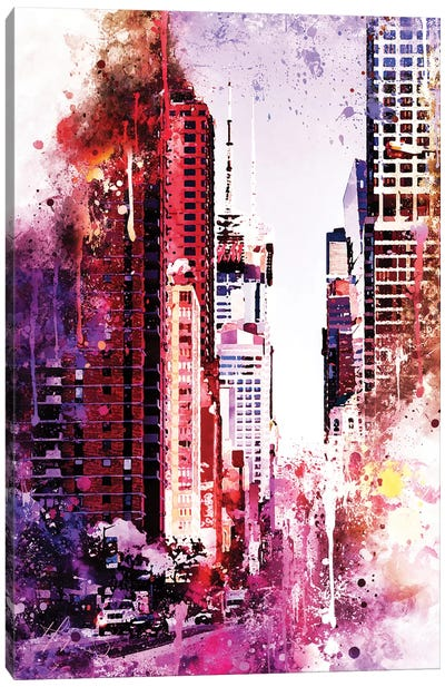 Life Is Pink Canvas Art Print