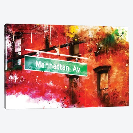 Manhattan Avenue Canvas Print #PHD739} by Philippe Hugonnard Canvas Artwork