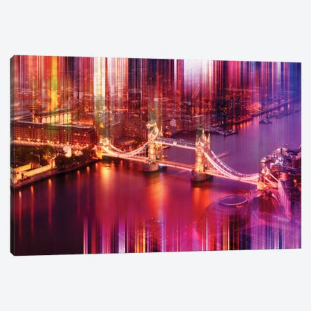 Famous Tower Bridge Canvas Print #PHD73} by Philippe Hugonnard Art Print
