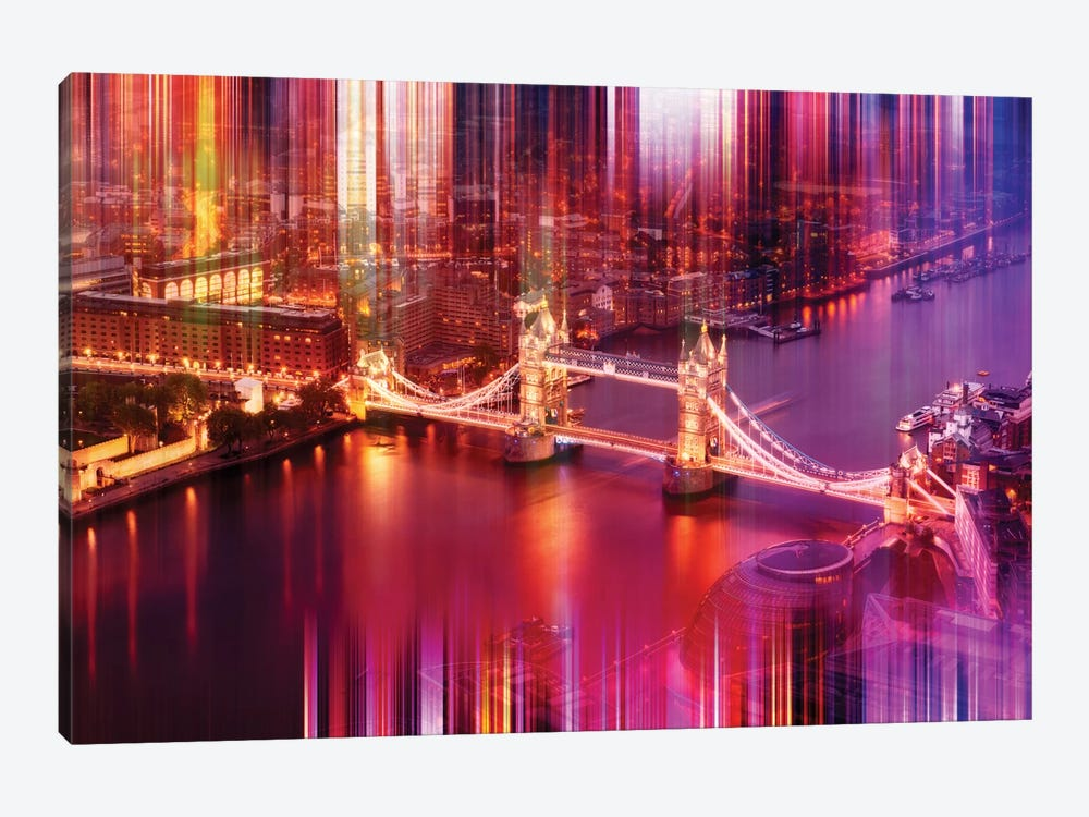 Famous Tower Bridge 1-piece Canvas Artwork