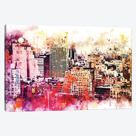 Manhattan District Canvas Print #PHD745} by Philippe Hugonnard Canvas Artwork