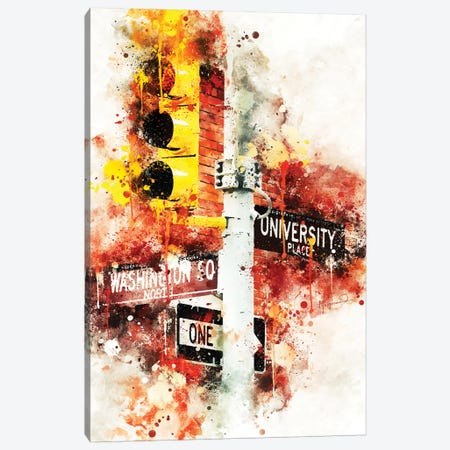 Manhattan Signs Canvas Print #PHD746} by Philippe Hugonnard Canvas Art
