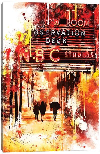 NBC Studios II Canvas Art Print
