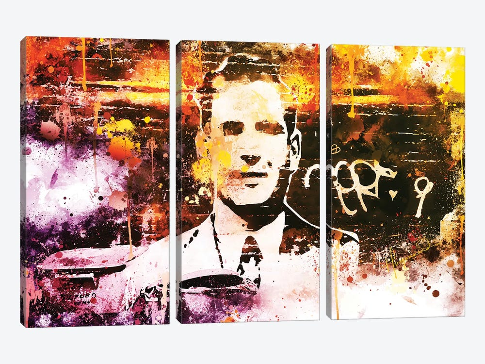 One Man by Philippe Hugonnard 3-piece Canvas Art Print