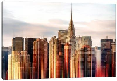 Urban Stretch Series - Chrysler Building Canvas Print #PHD75