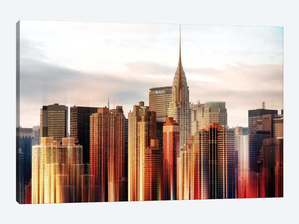 Urban Stretch Series - Chrysler Building by Philippe Hugonnard 1-piece Canvas Art