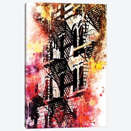 Stairs Shadows Canvas Print #PHD765} by Philippe Hugonnard Canvas Art