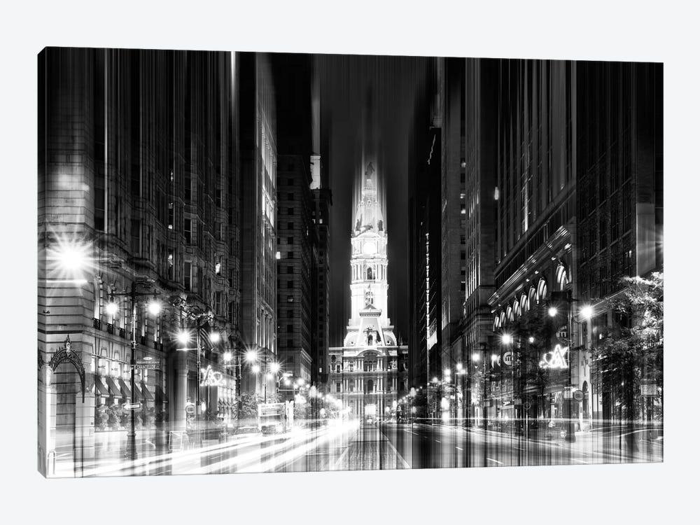 City Hall - Philadelphia by Philippe Hugonnard 1-piece Canvas Art Print